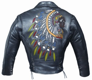 CHAQUETAS CUSTOM ALEX ORIGINALS PIEL INDIAN